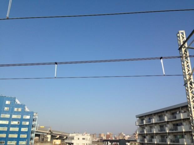 本日の東京の空模様です