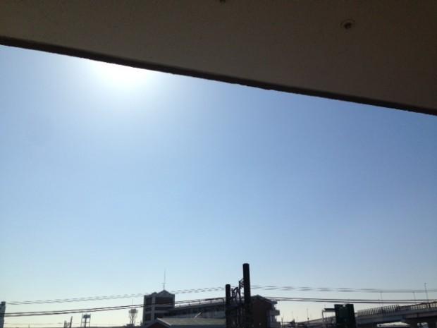本日の東京の空模様