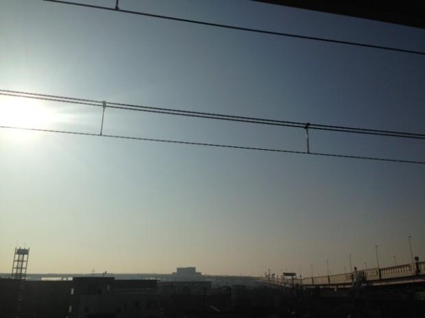 本当の東京の空模様