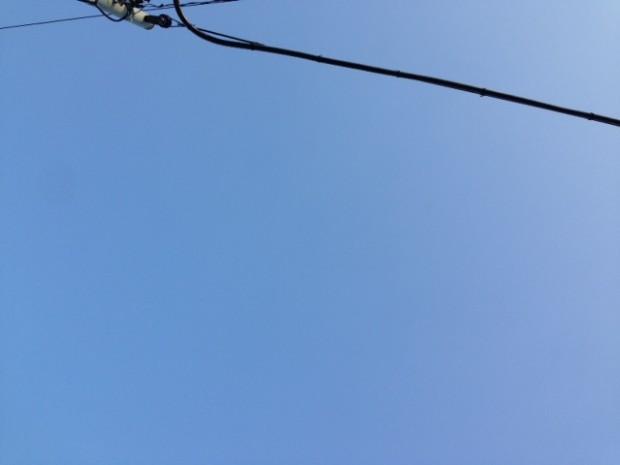昨日の神奈川県の空模様