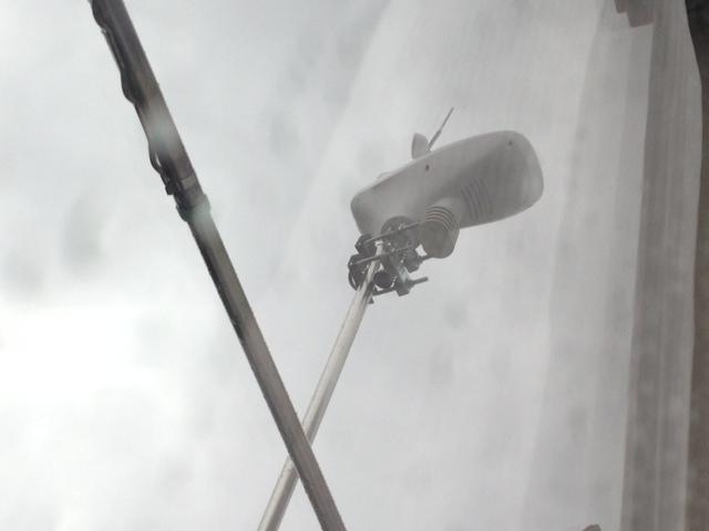 気象観測してる野外設置の観測機