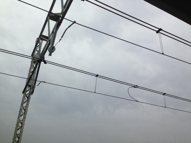東京雨ですね。