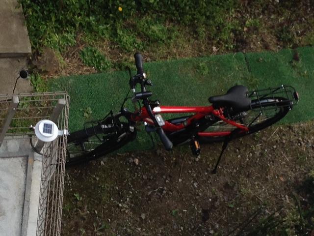 赤い自転車に負けた日々!