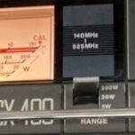 DIAMOND SX-400 SWRメーター 照明玉切れ